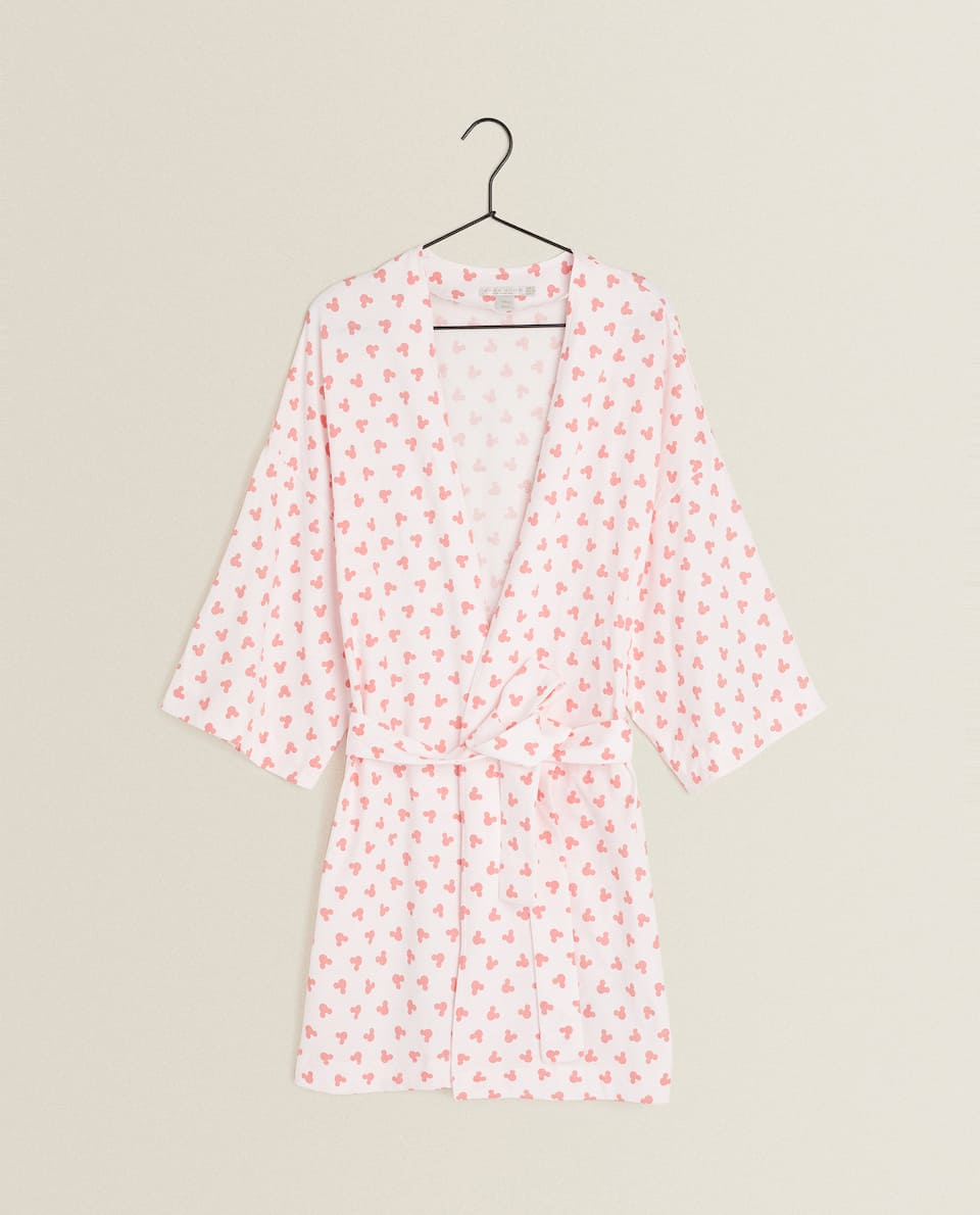 MICKEY MOUSE JERSEY FABRIC DRESSING GOWN