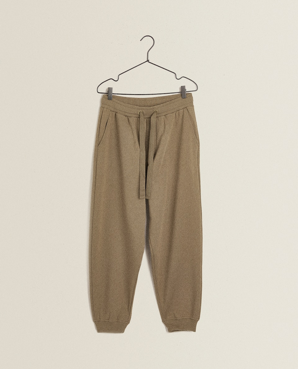 PLUSH TROUSERS