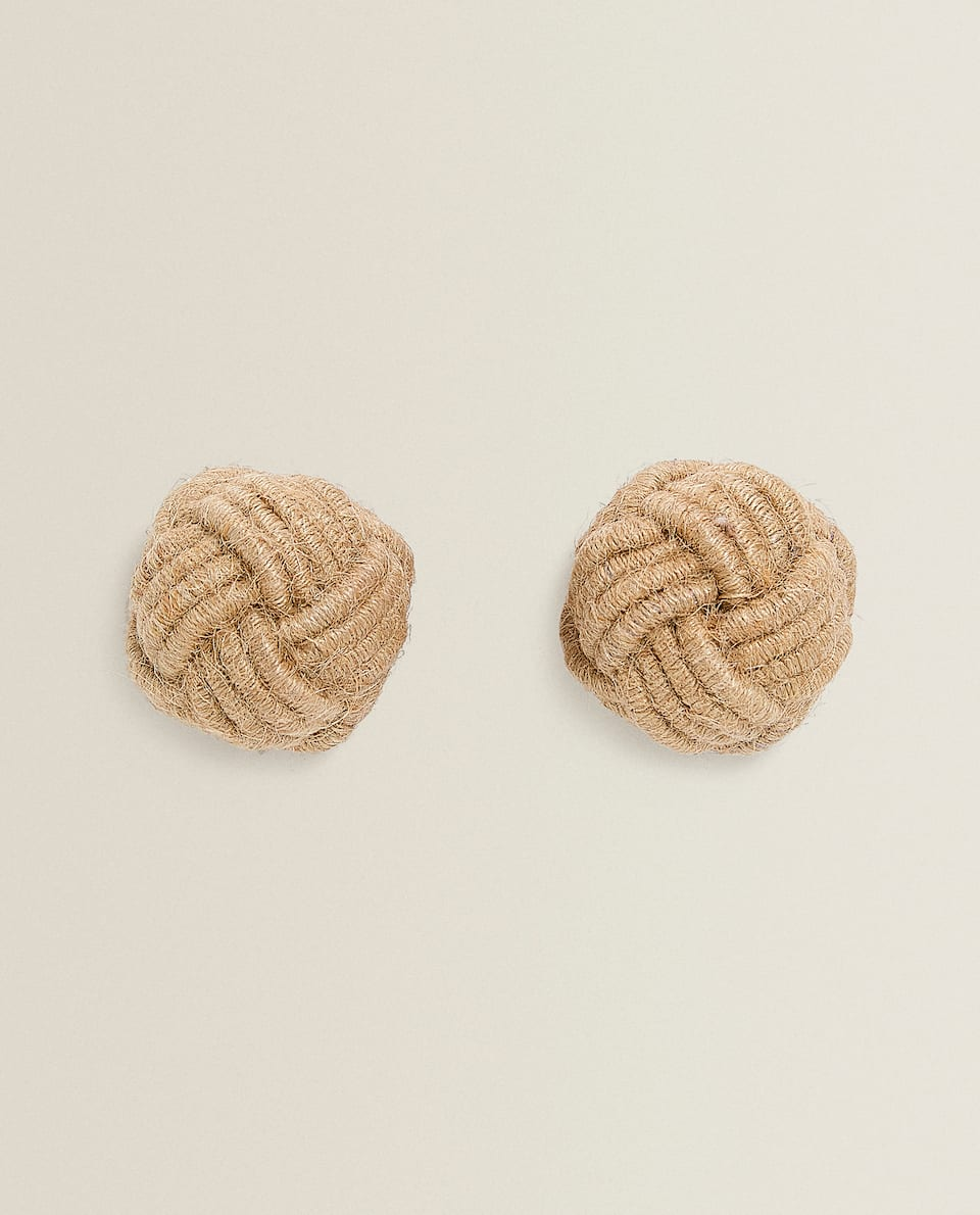 ROPE DOOR KNOB (PACK OF 2)