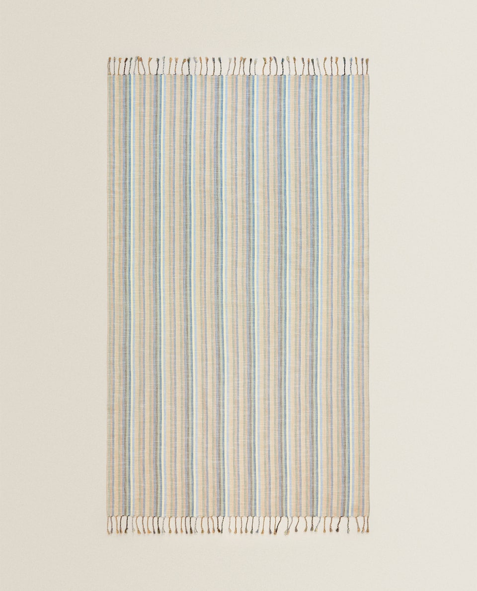 STRIPED PAREO TOWEL