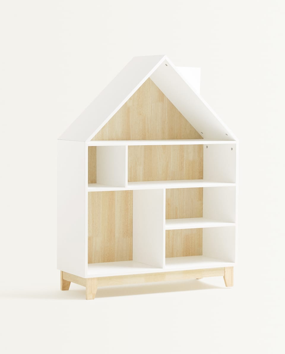 KIDS LARGE HOUSE BOOKSHELF