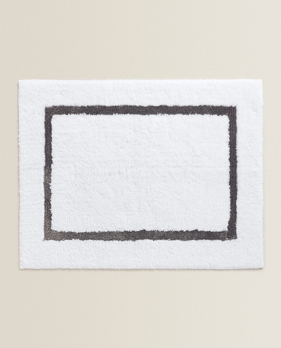 BATH MAT WITH FRAME
