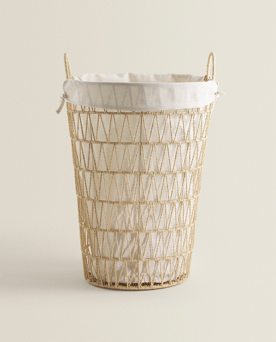 BRAIDED PAPER BASKET