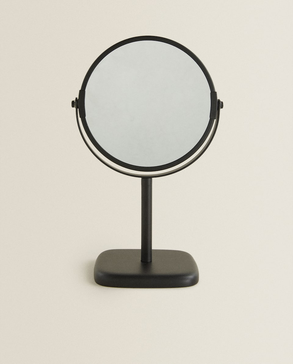 BLACK RESIN MIRROR