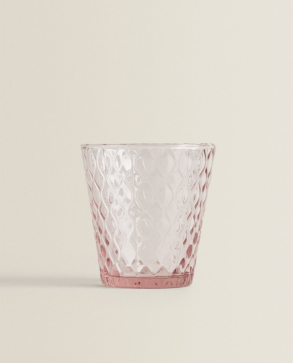 HONEYCOMB-EFFECT TUMBLER