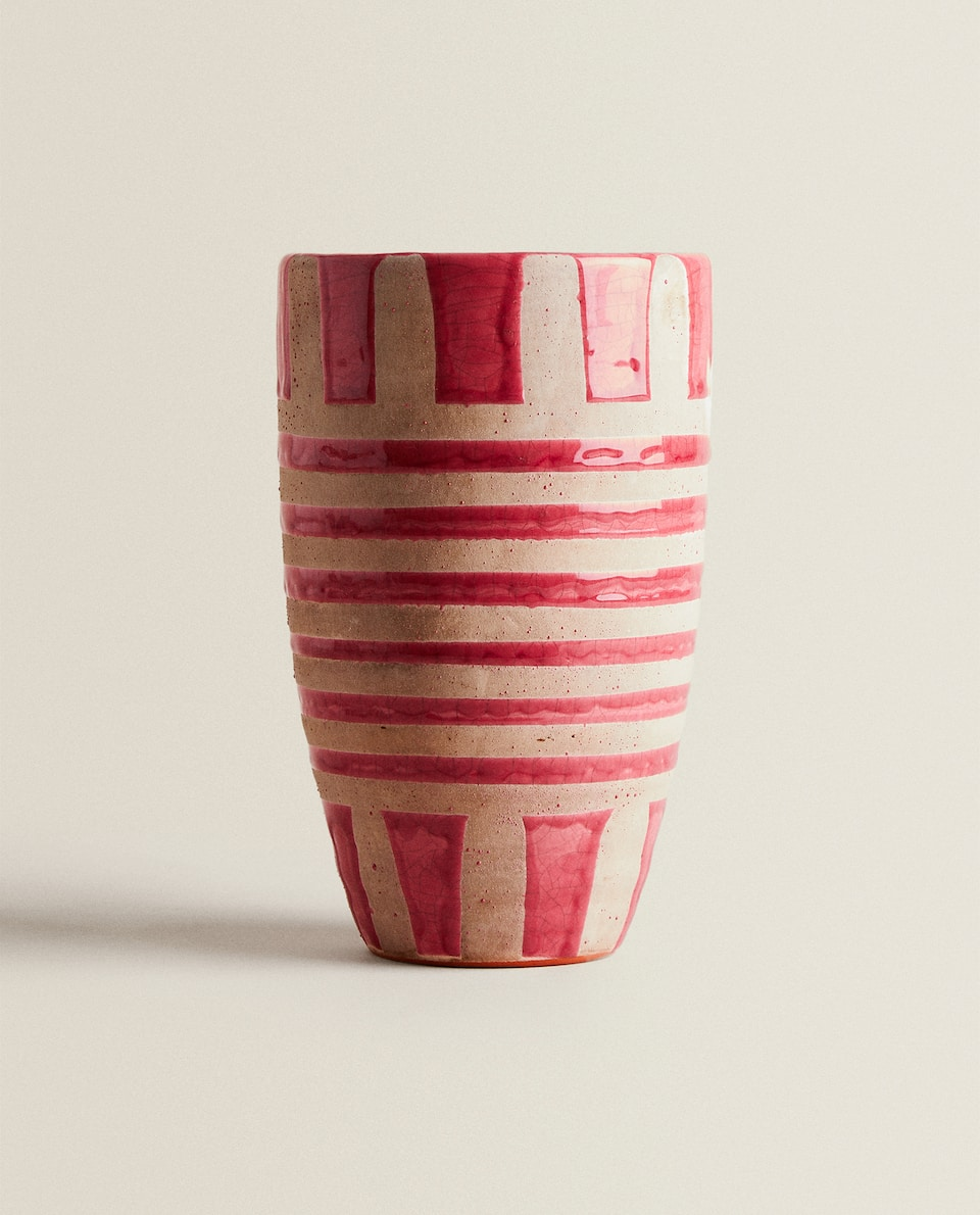 PINK DECORATIVE VASE