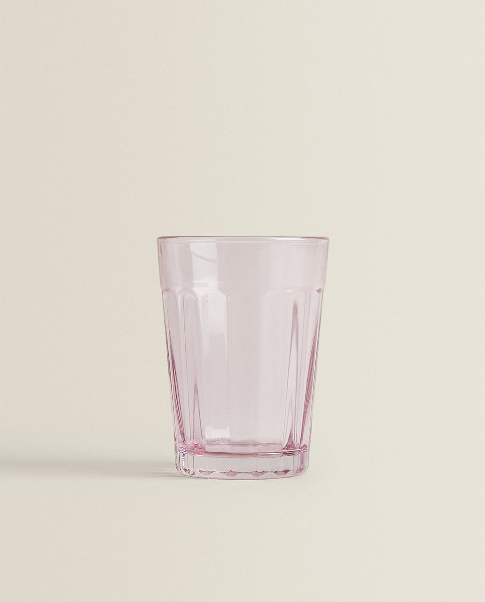 RAISED STRIPE DESIGN TUMBLER