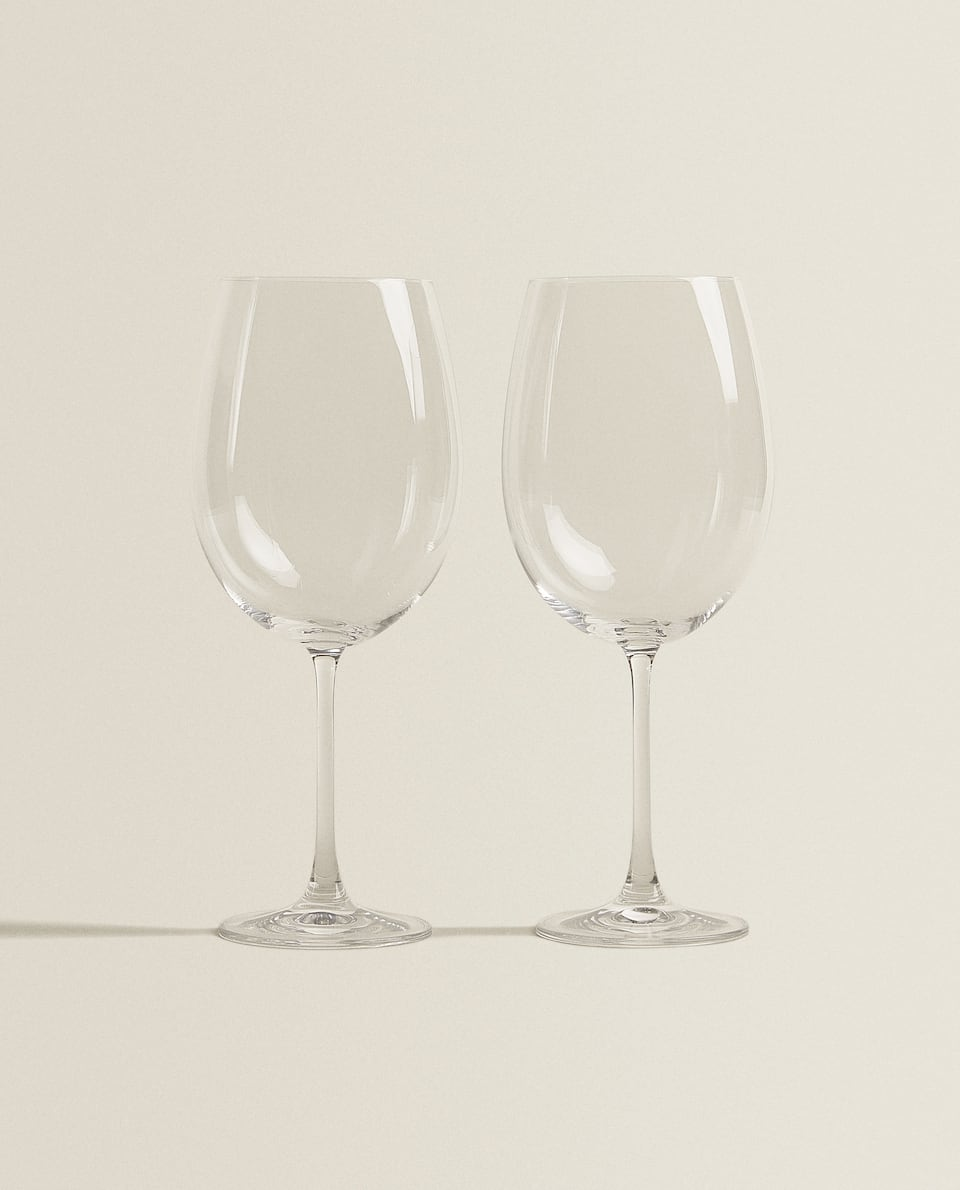 CRYSTALLINE WINE GLASS (SET OF 2)