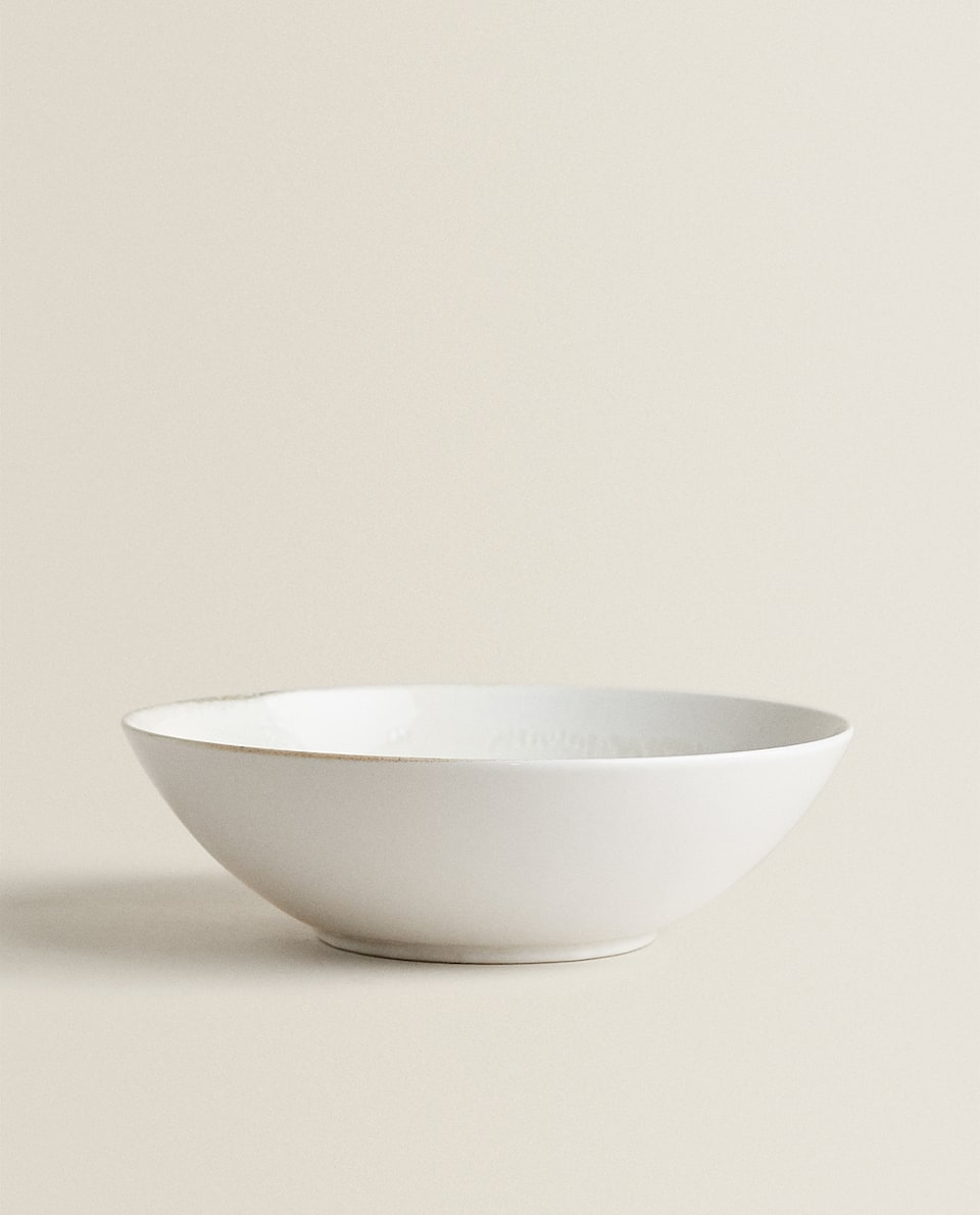 NATURAL-SHAPED SALAD BOWL