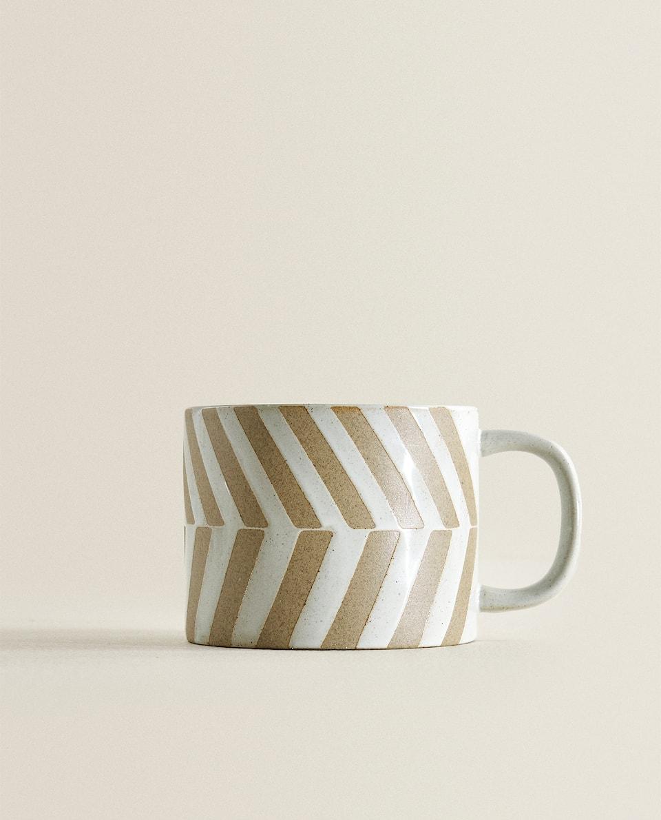 فنجان ثنائي اللون