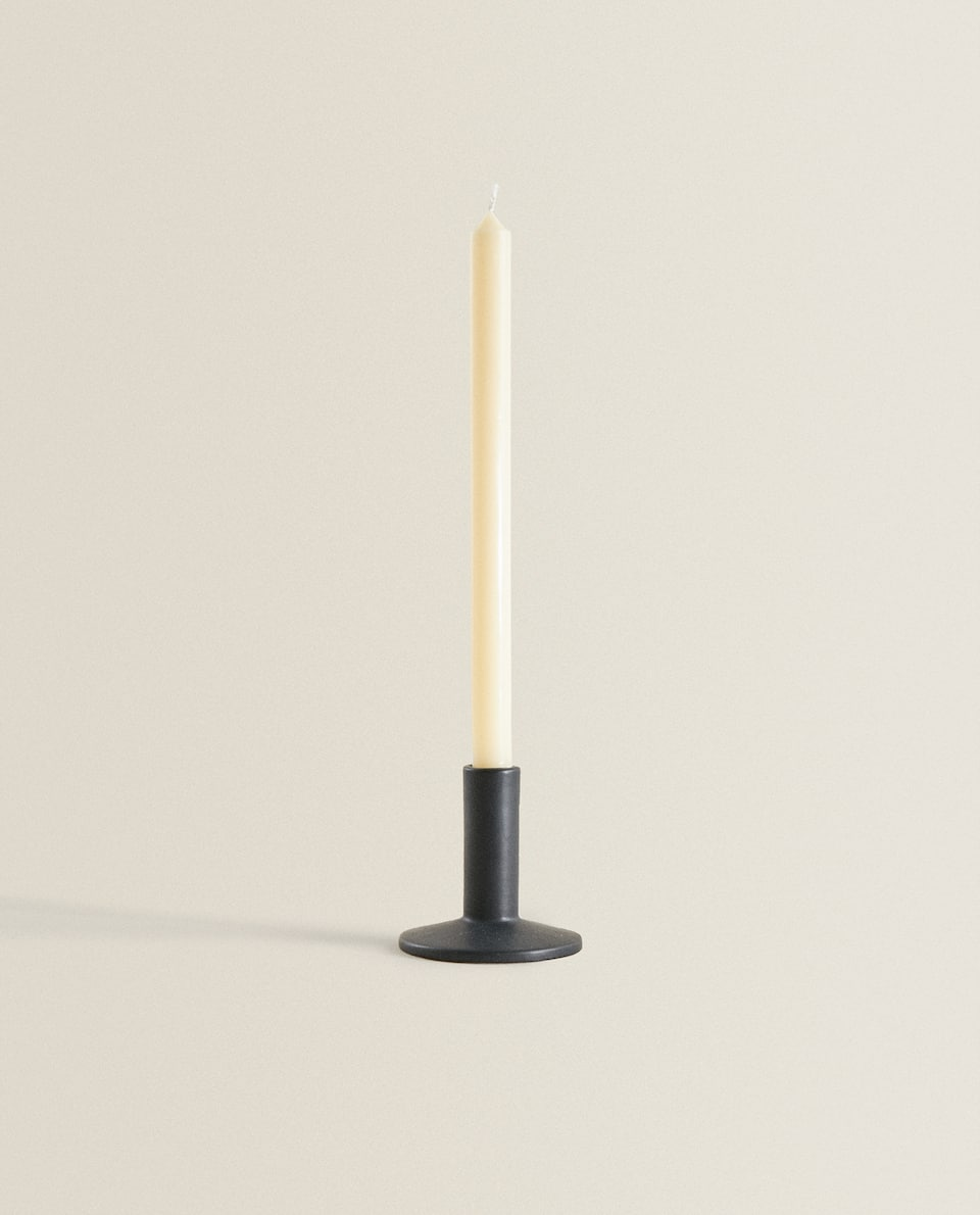 MATTE-FINISH CANDLESTICK