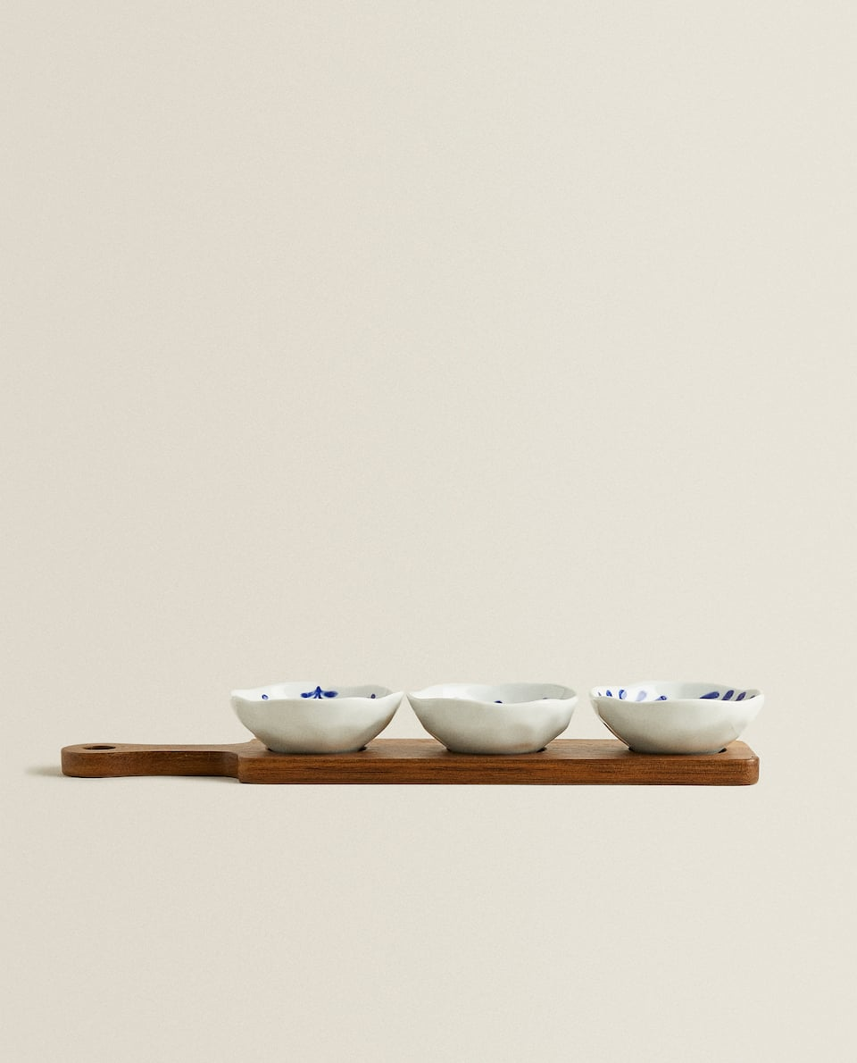TRAY AND MINI BOWL SET