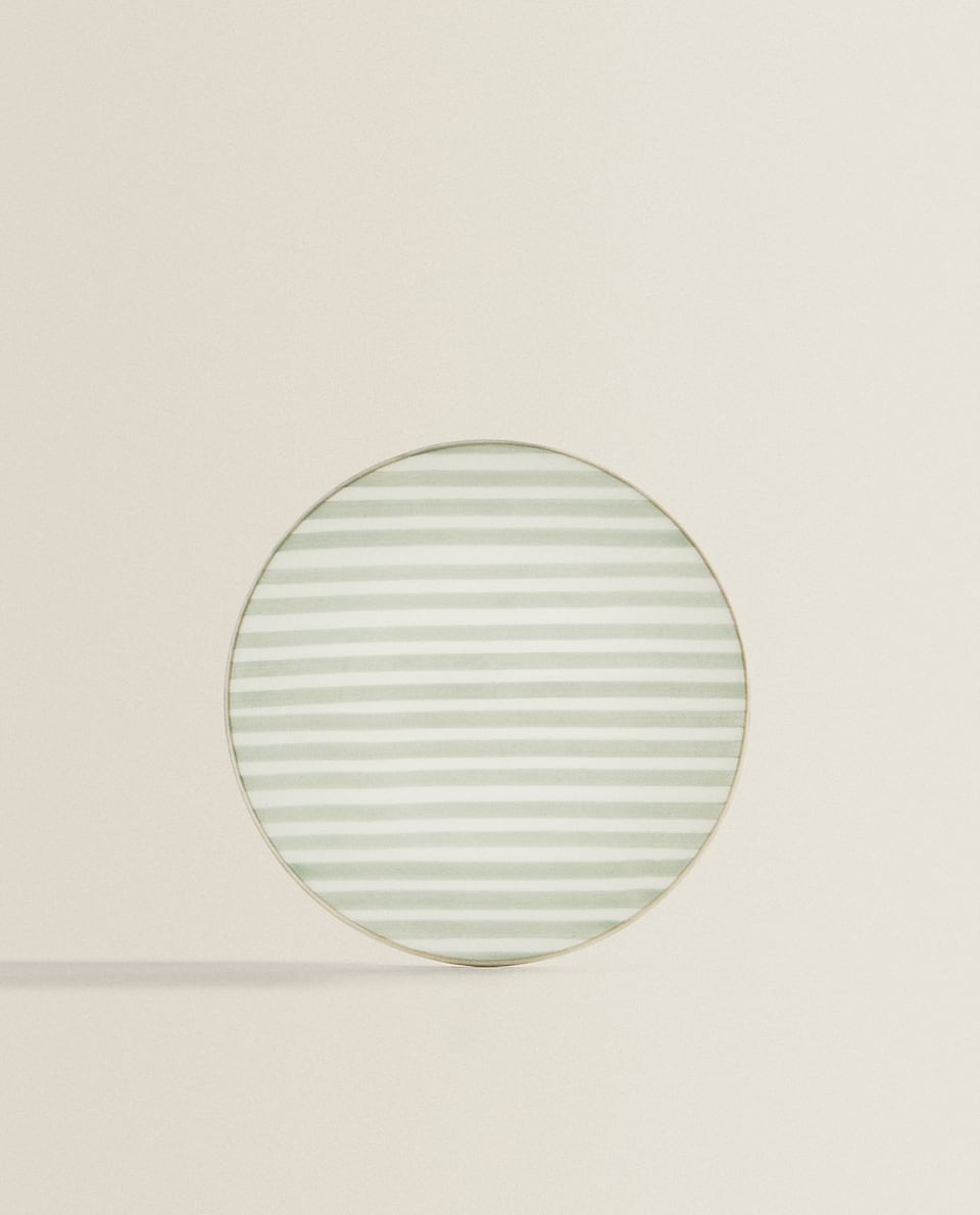 STRIPED SIDE PLATE
