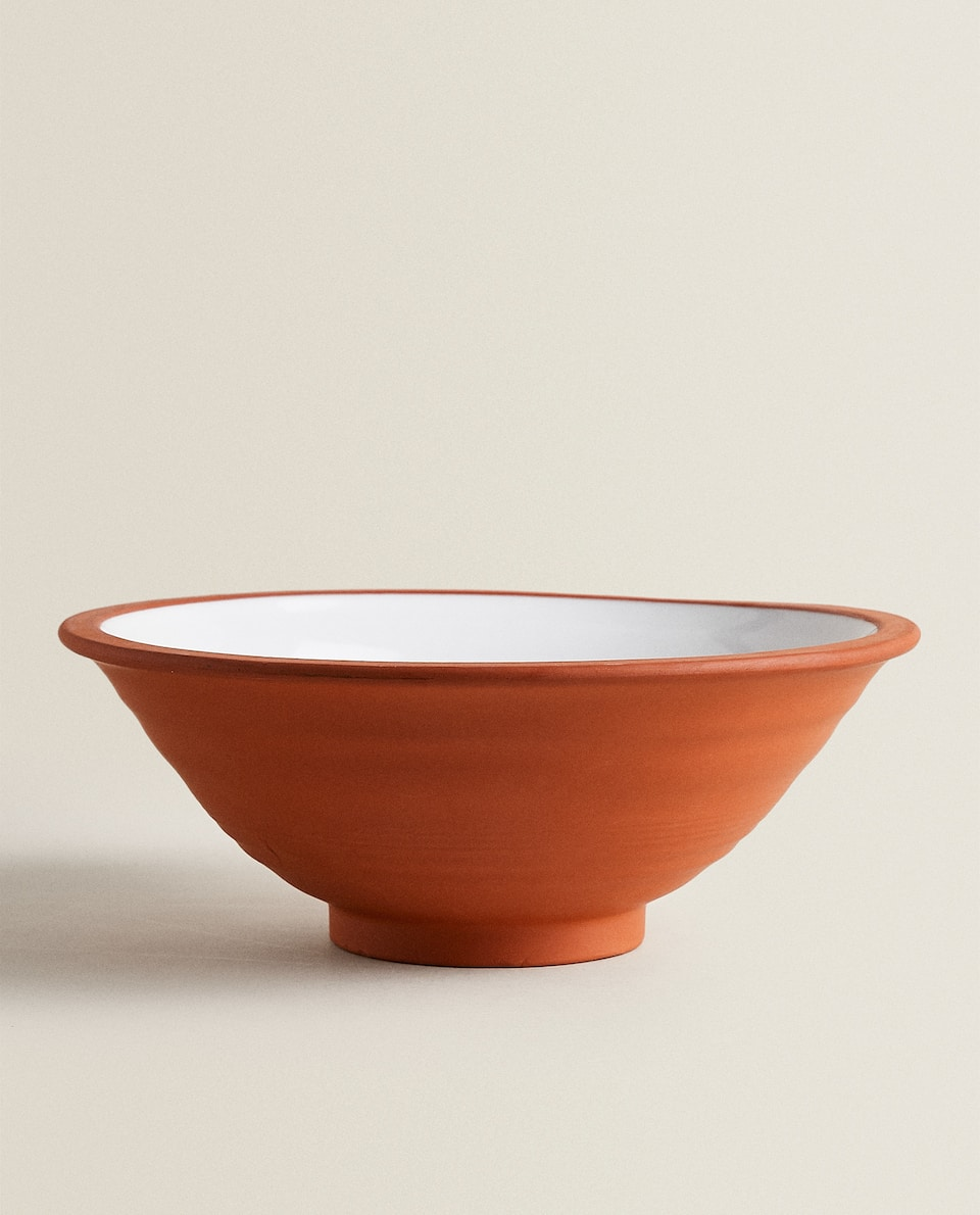 TERRACOTTA SALAD BOWL