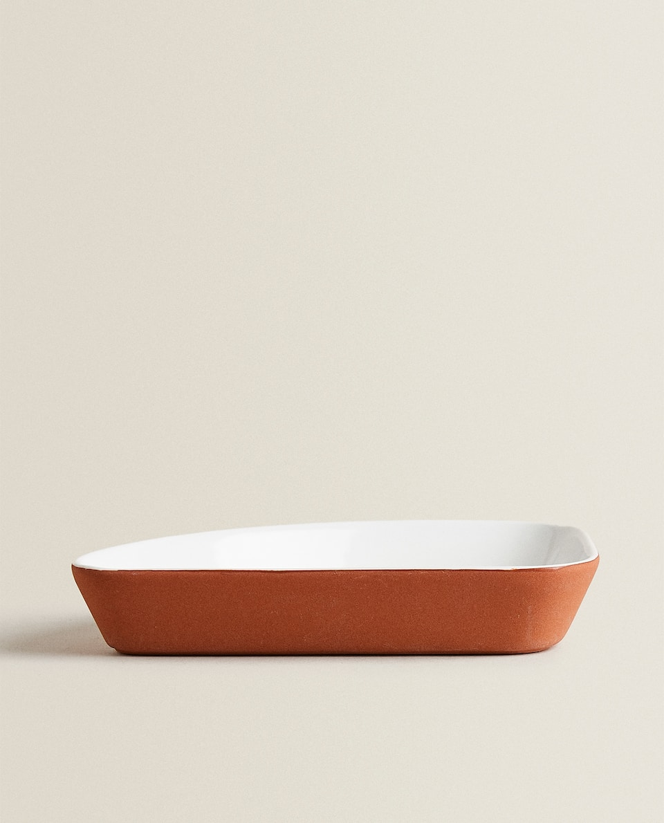 TERRACOTTA-EFFECT BOWL