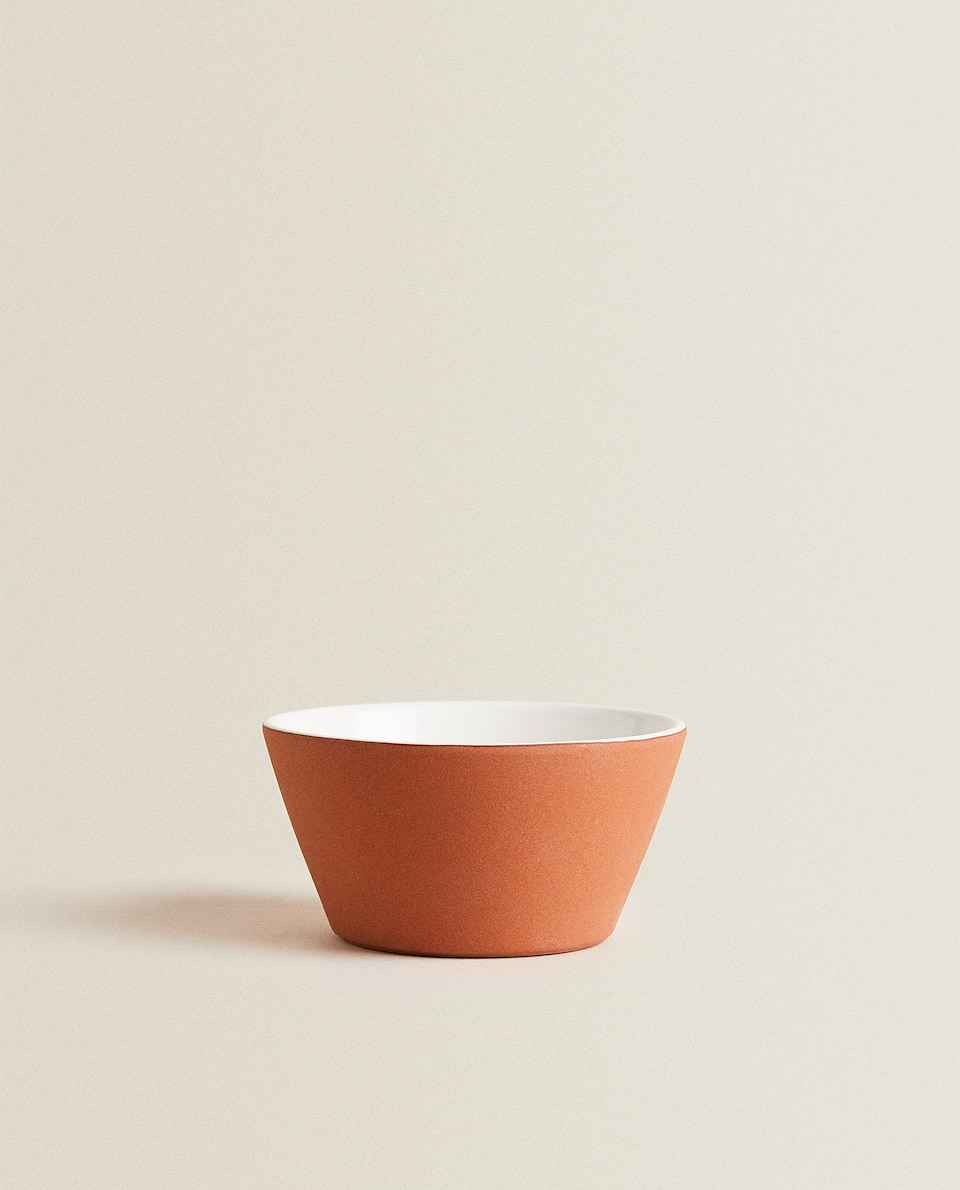 TERRACOTTA-EFFECT MINI BOWL