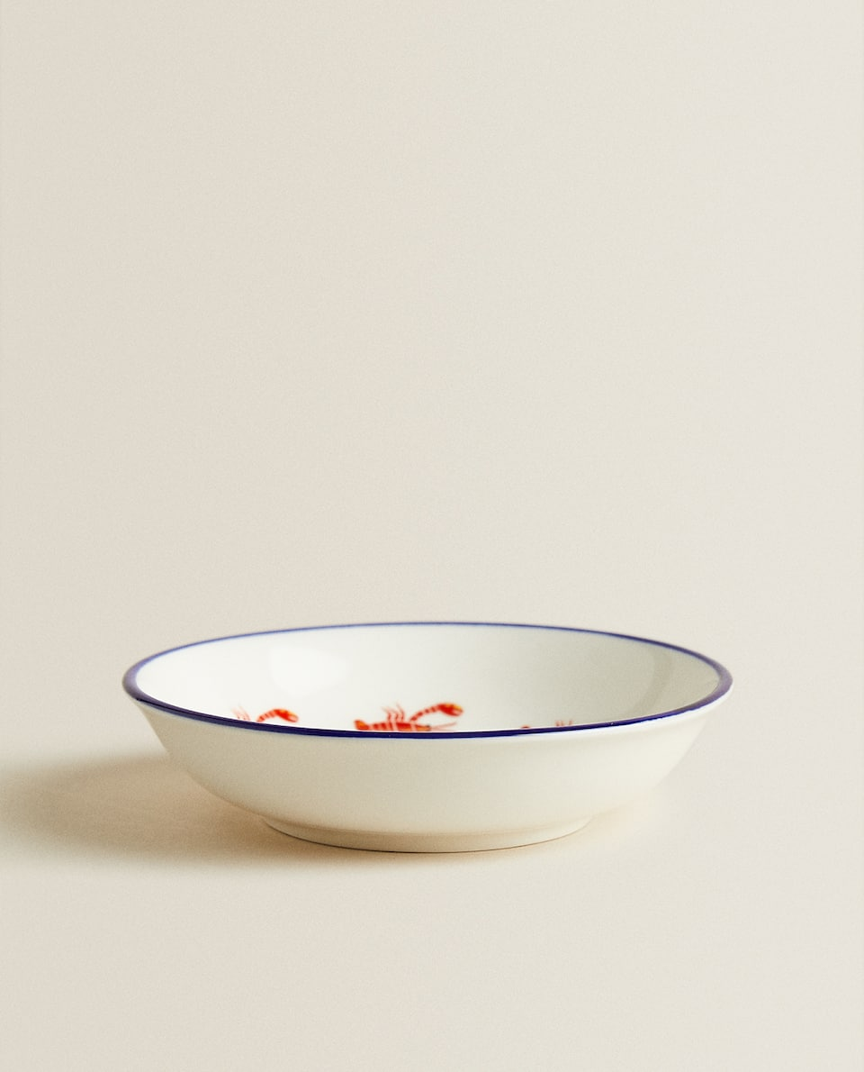 LOBSTER PORCELAIN MINI BOWL