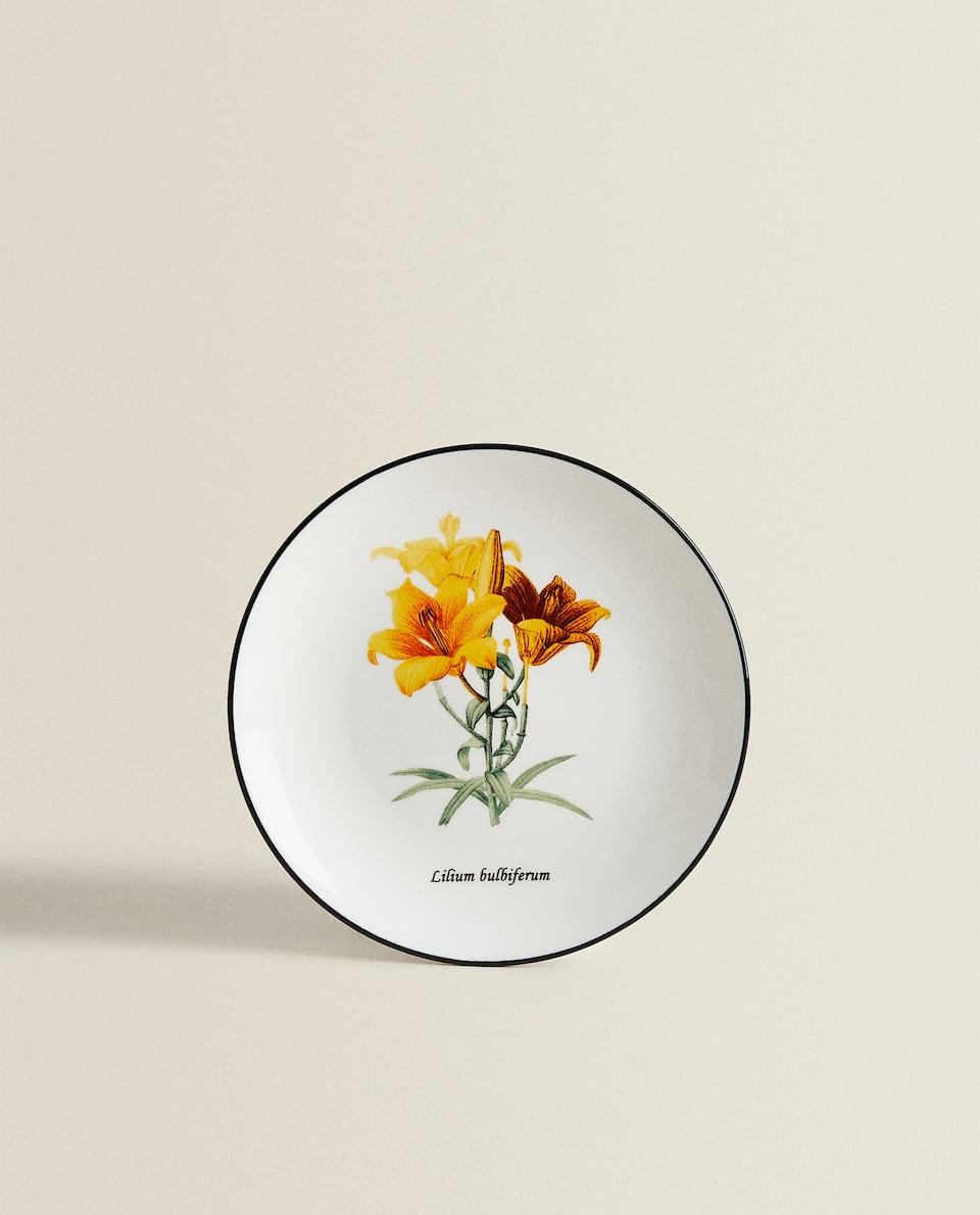 FLOWER MOTIF SIDE PLATE