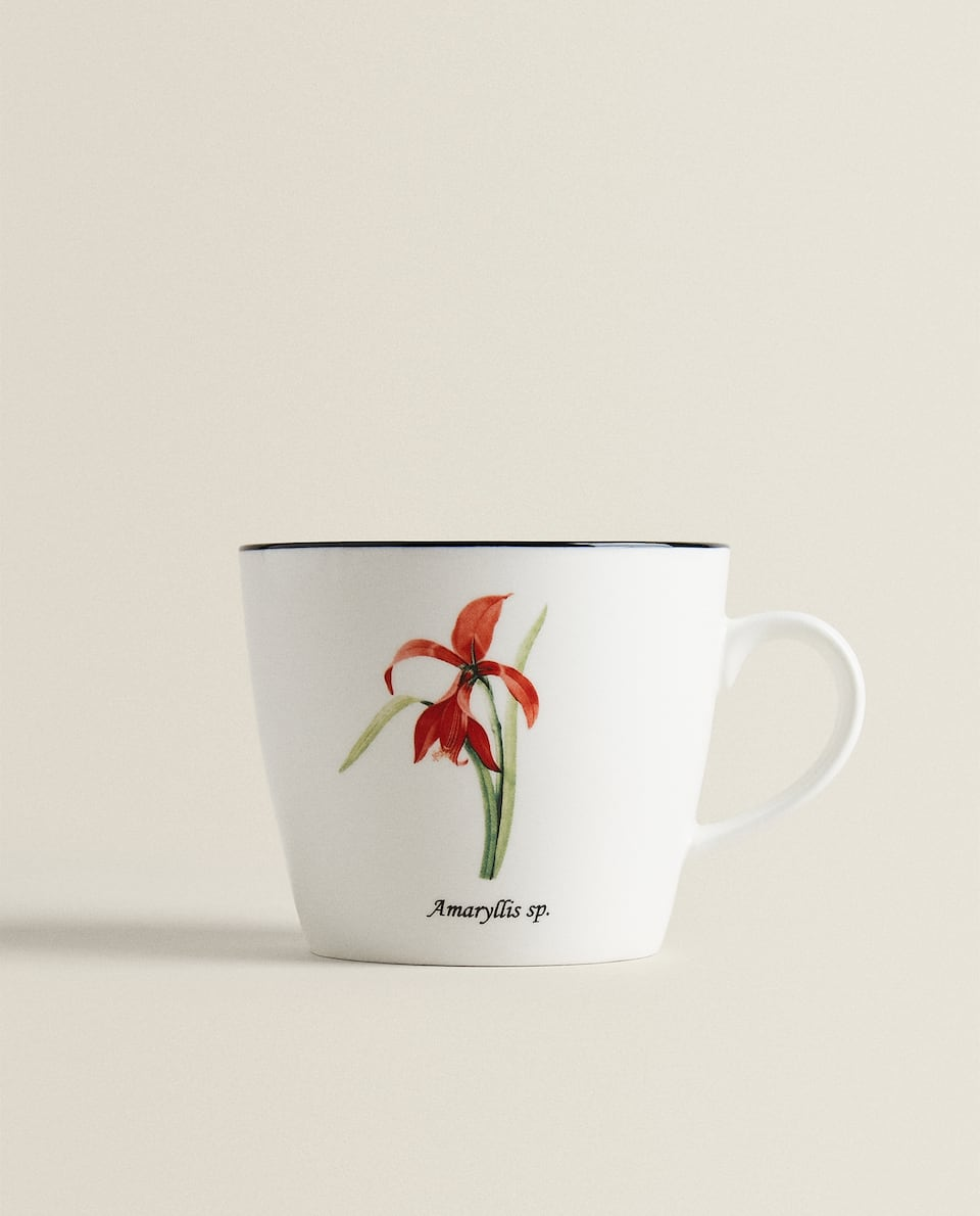 MUG IN PORCELLANA A FIORI