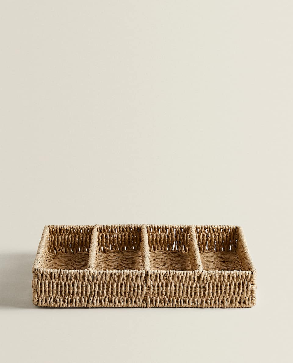 BRAIDED CUTLERY TRAY