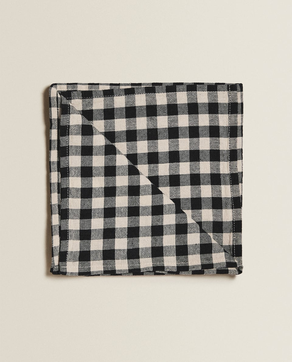 WASHED LINEN NAPKINS (PACK OF 2)