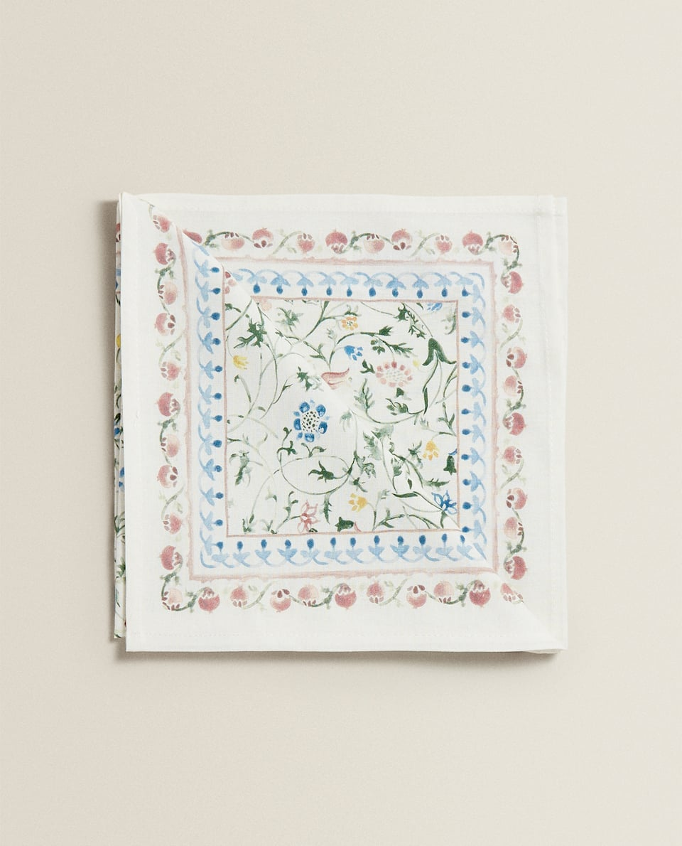 COTTON NAPKINS (PACK OF 2)