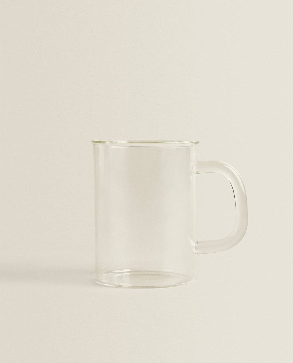 LARGE BOROSILICATE GLASS MUG