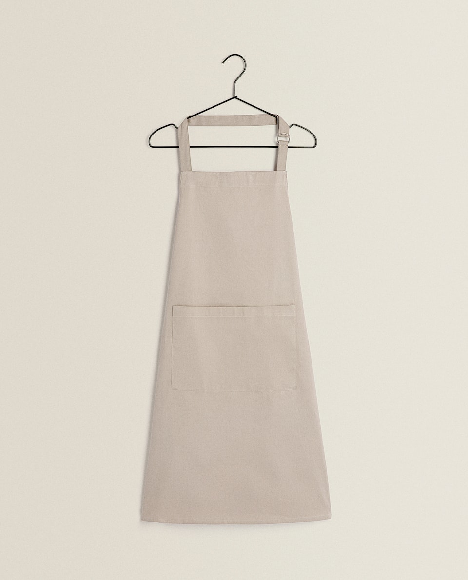 COTTON TWILL APRON