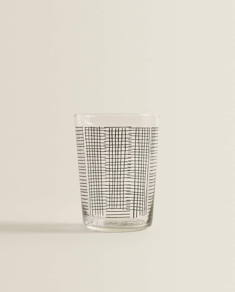 LINEAR TRANSFER SOFT DRINK TUMBLER