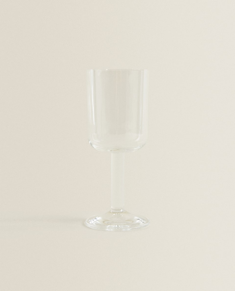 CHUNKY STEM WINE GLASS