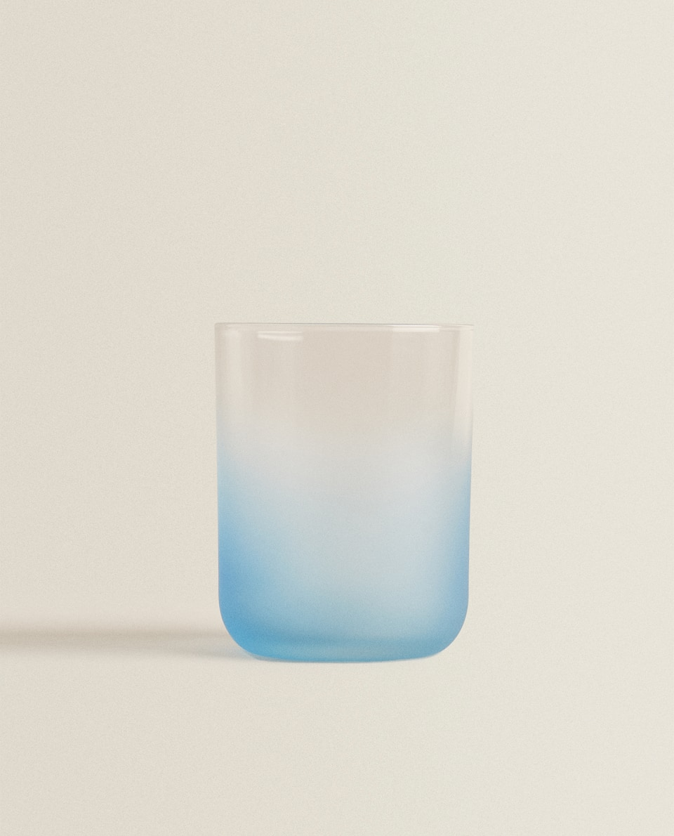 FROSTED-EFFECT TUMBLER