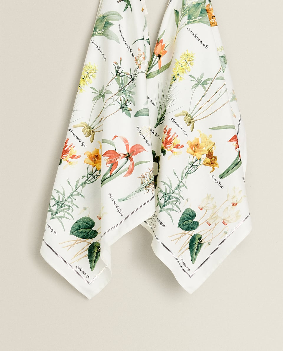 BOTANICAL PRINT TEA TOWEL (PACK OF 2)