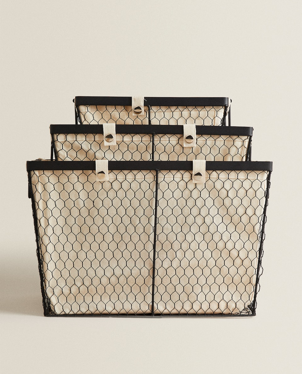 METAL MESH BASKET