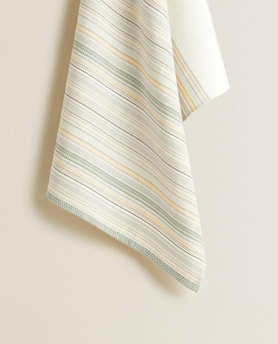 STRIPED TEA TOWEL