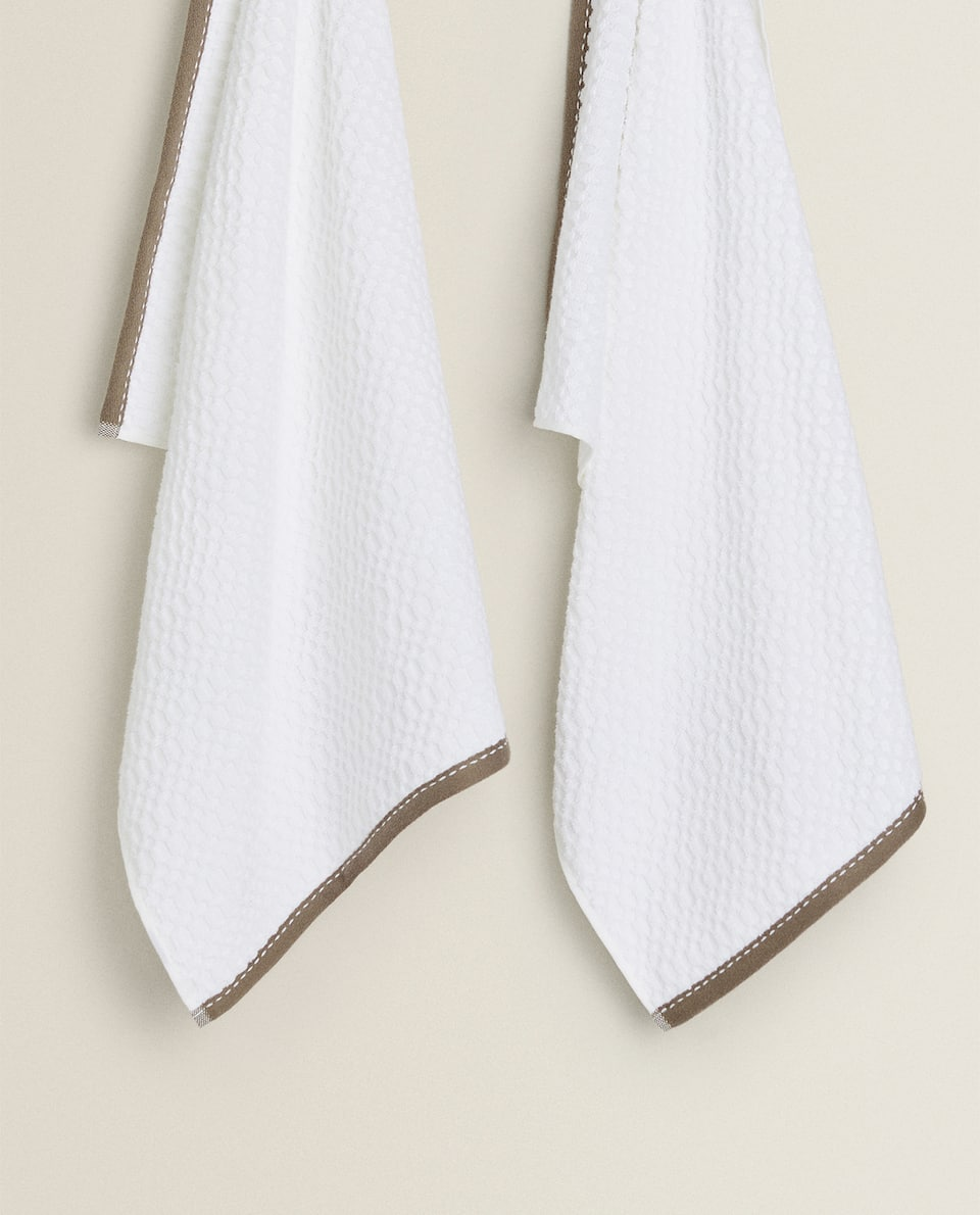 COTTON TERRYCLOTH TEA TOWEL (PACK OF 2)