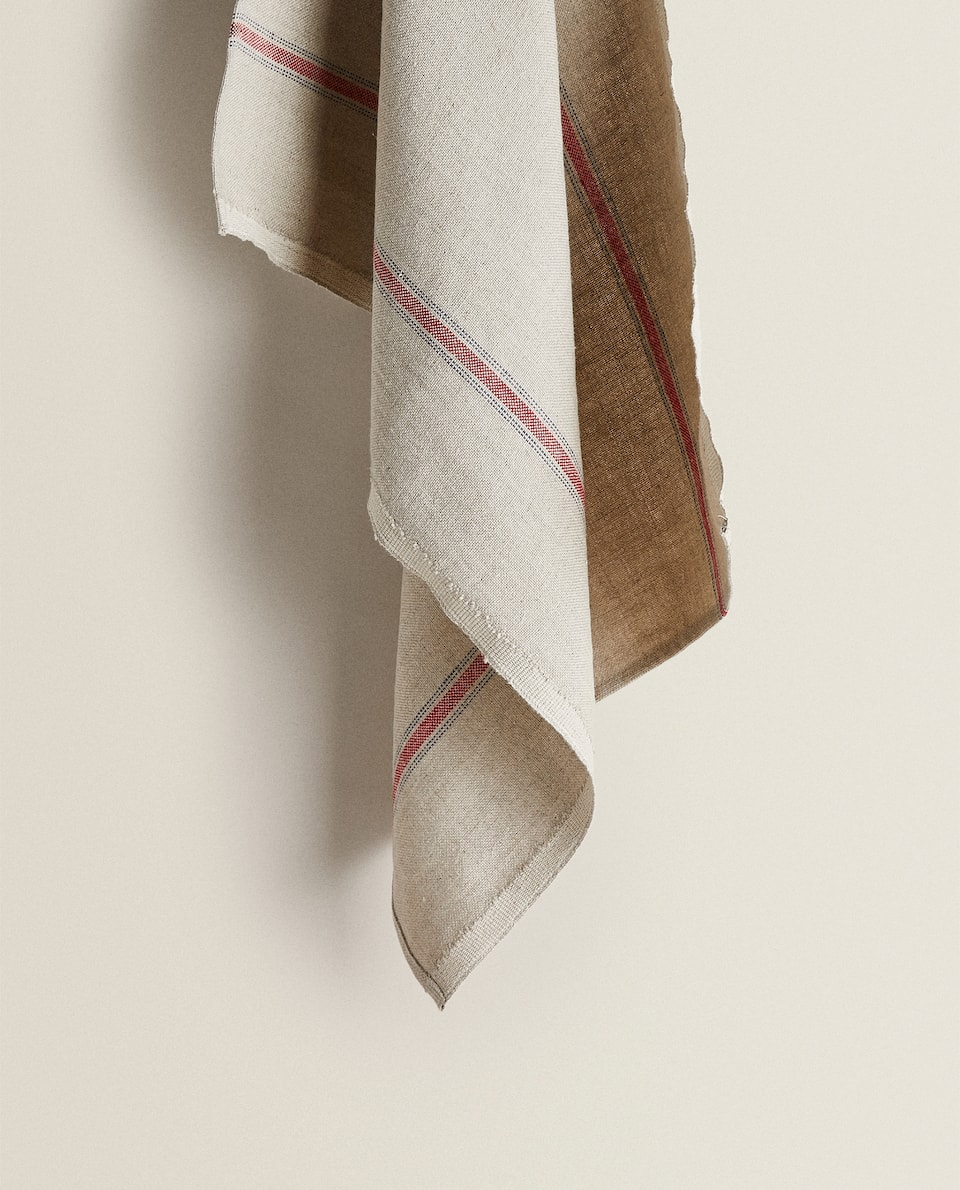 WASHED LINEN TEA TOWEL