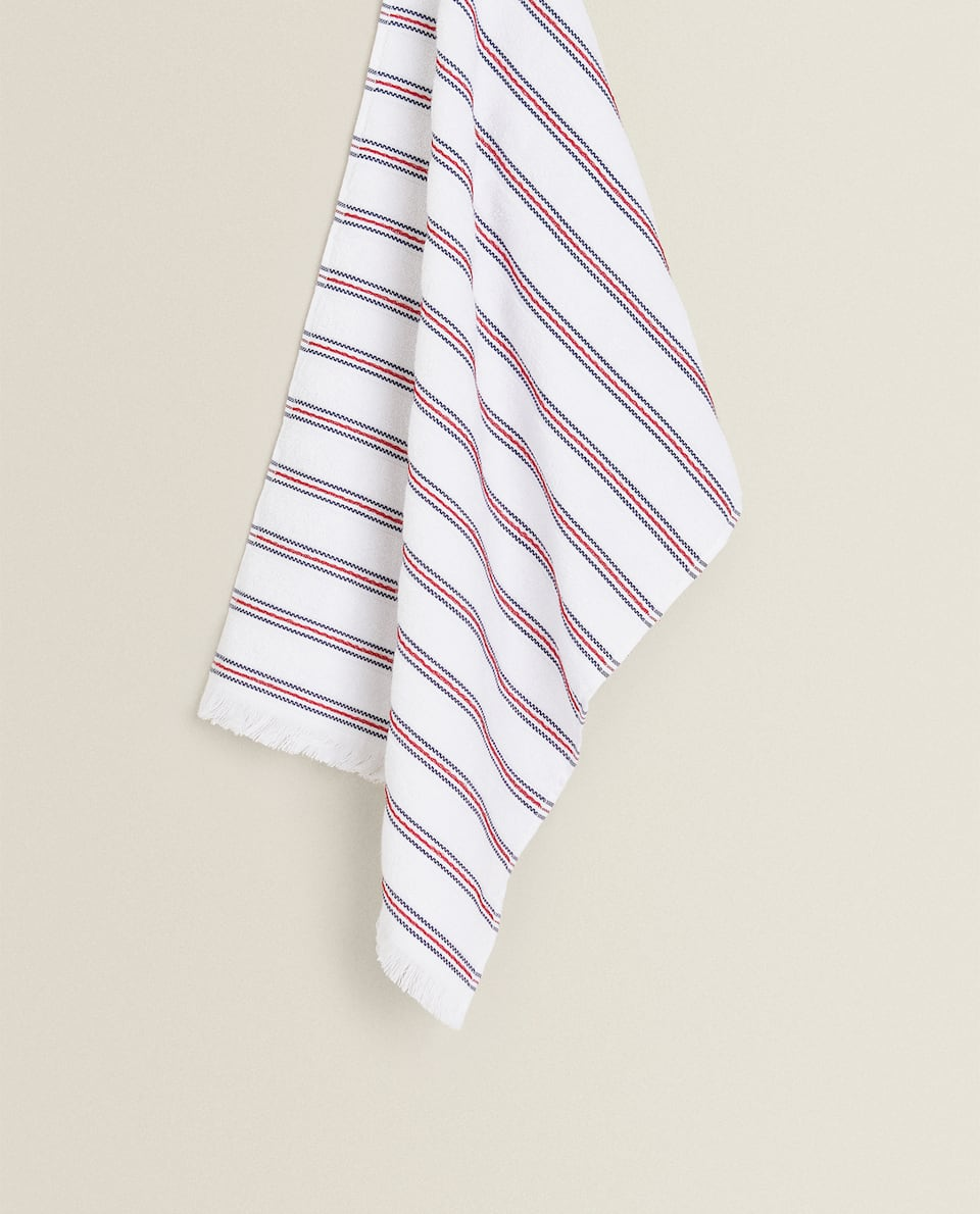 STRIPED TERRYCLOTH TEA TOWEL
