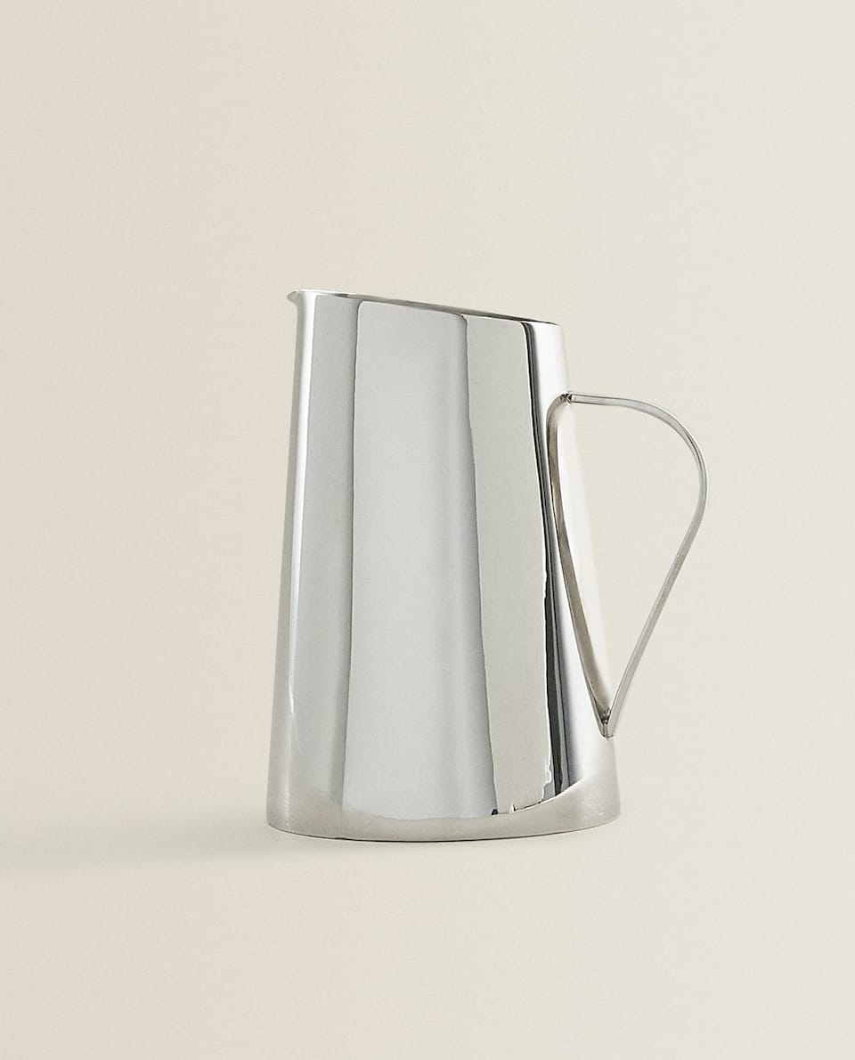METAL MILK JUG