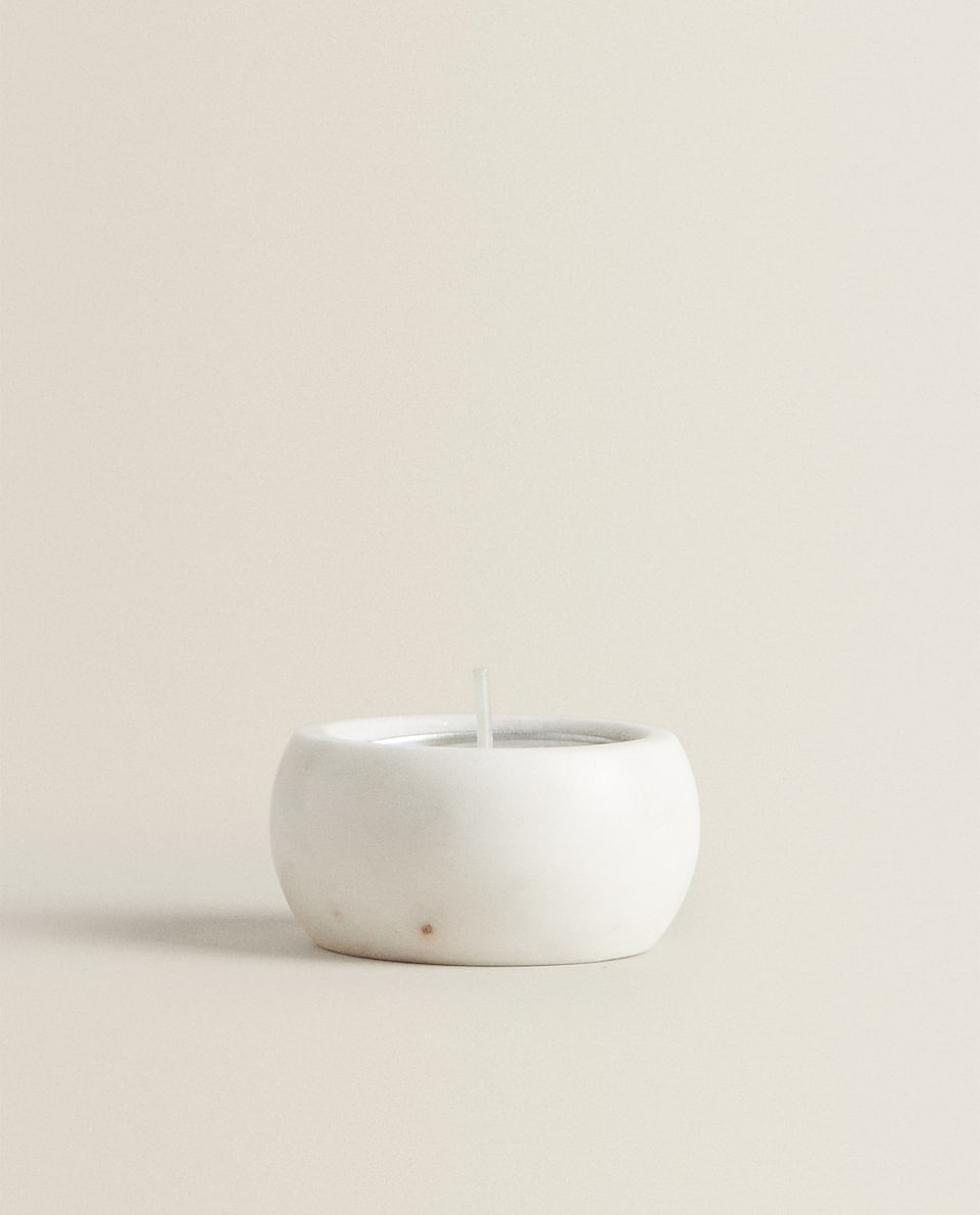 MARBLE TEALIGHT HOLDER