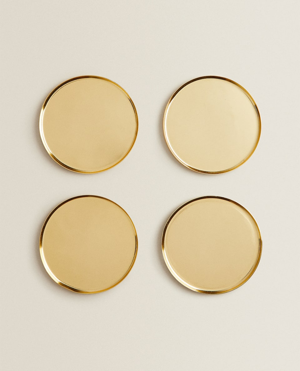 METAL COASTER (PACK OF 4)