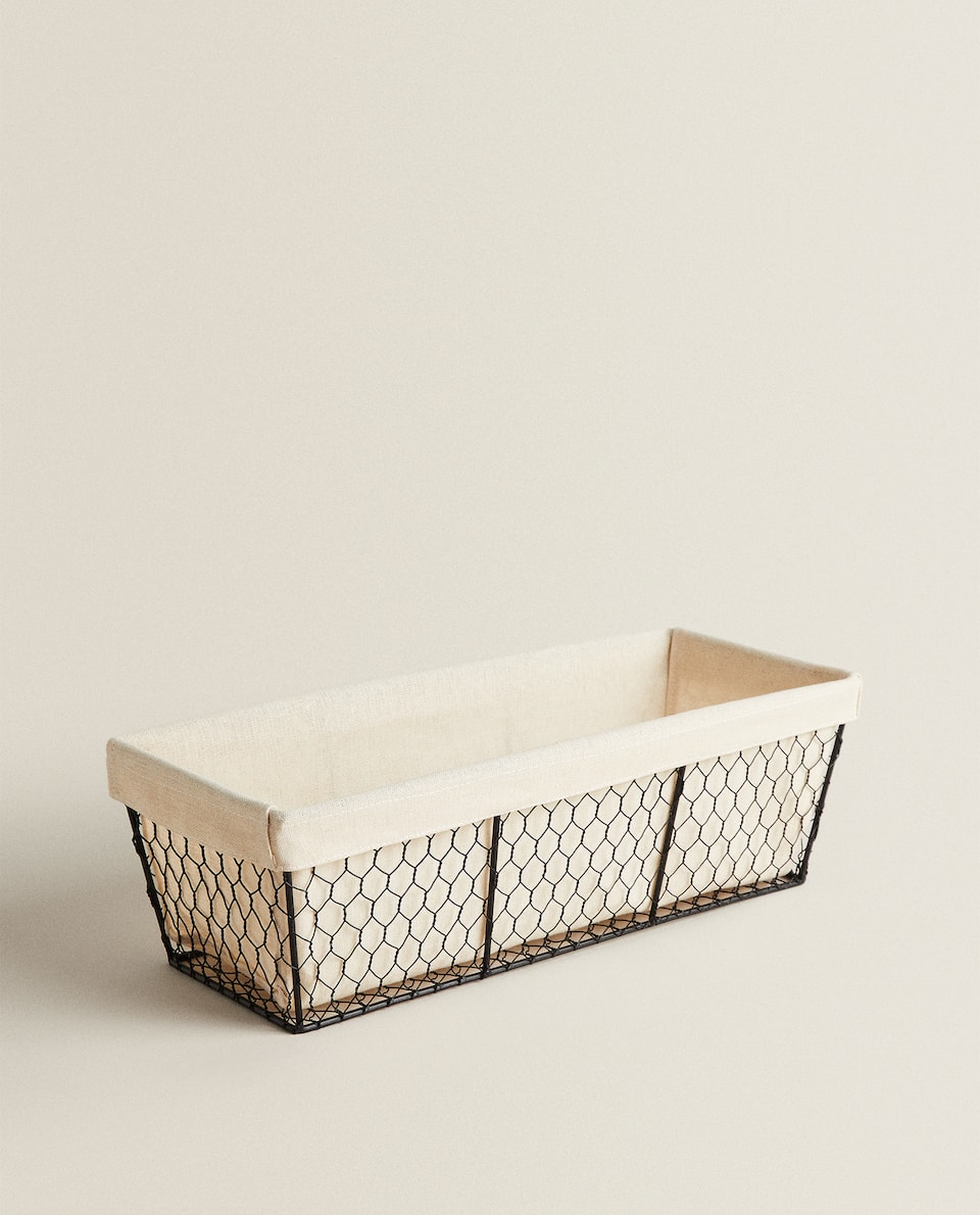 METAL MESH BREAD BASKET