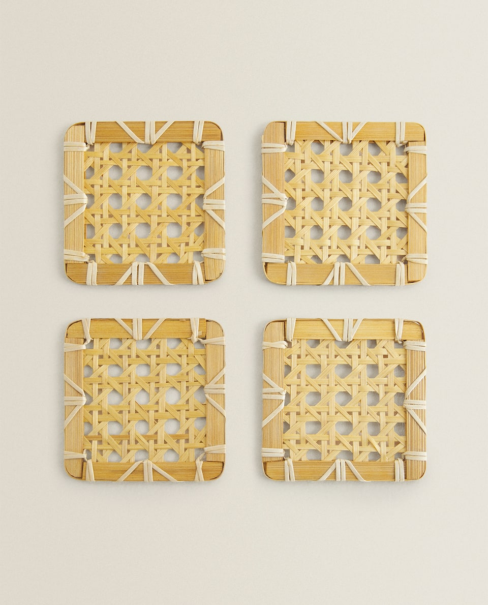 BAMBOO COASTER (PACK OF 4)