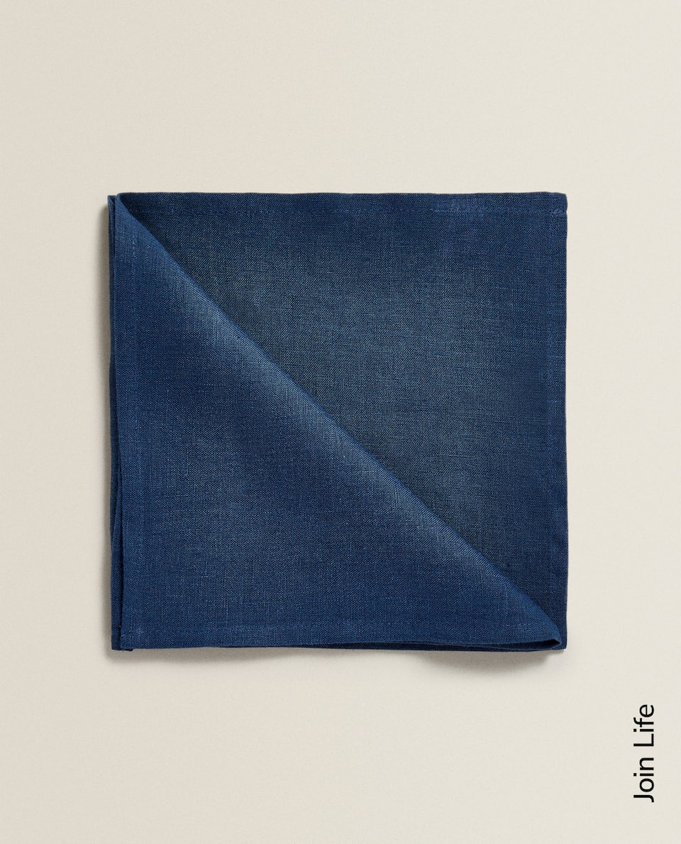 SERVIETTE DE TABLE LIN LAVÉ (LOT DE 2)