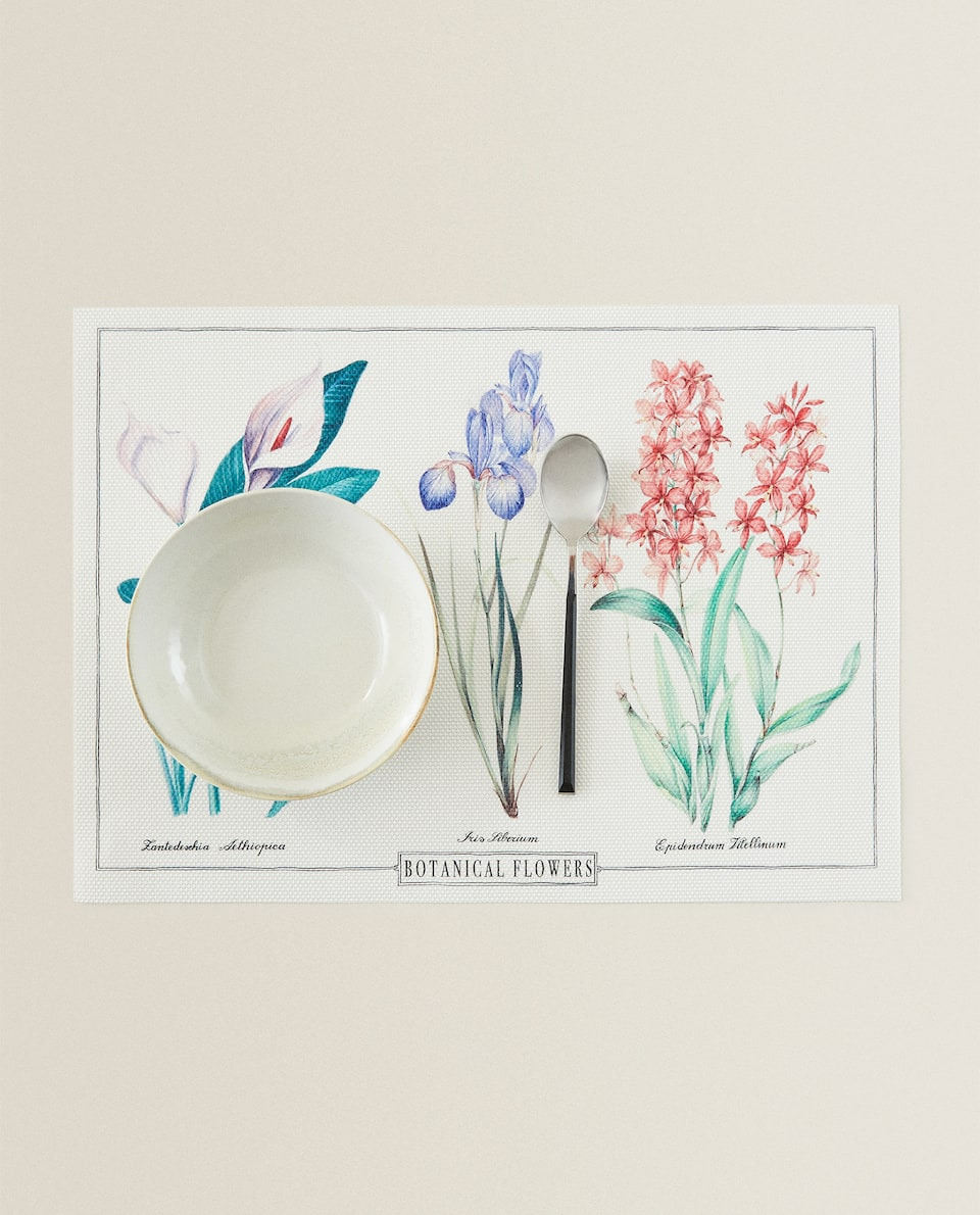 BOTANICAL PRINT PLACEMAT