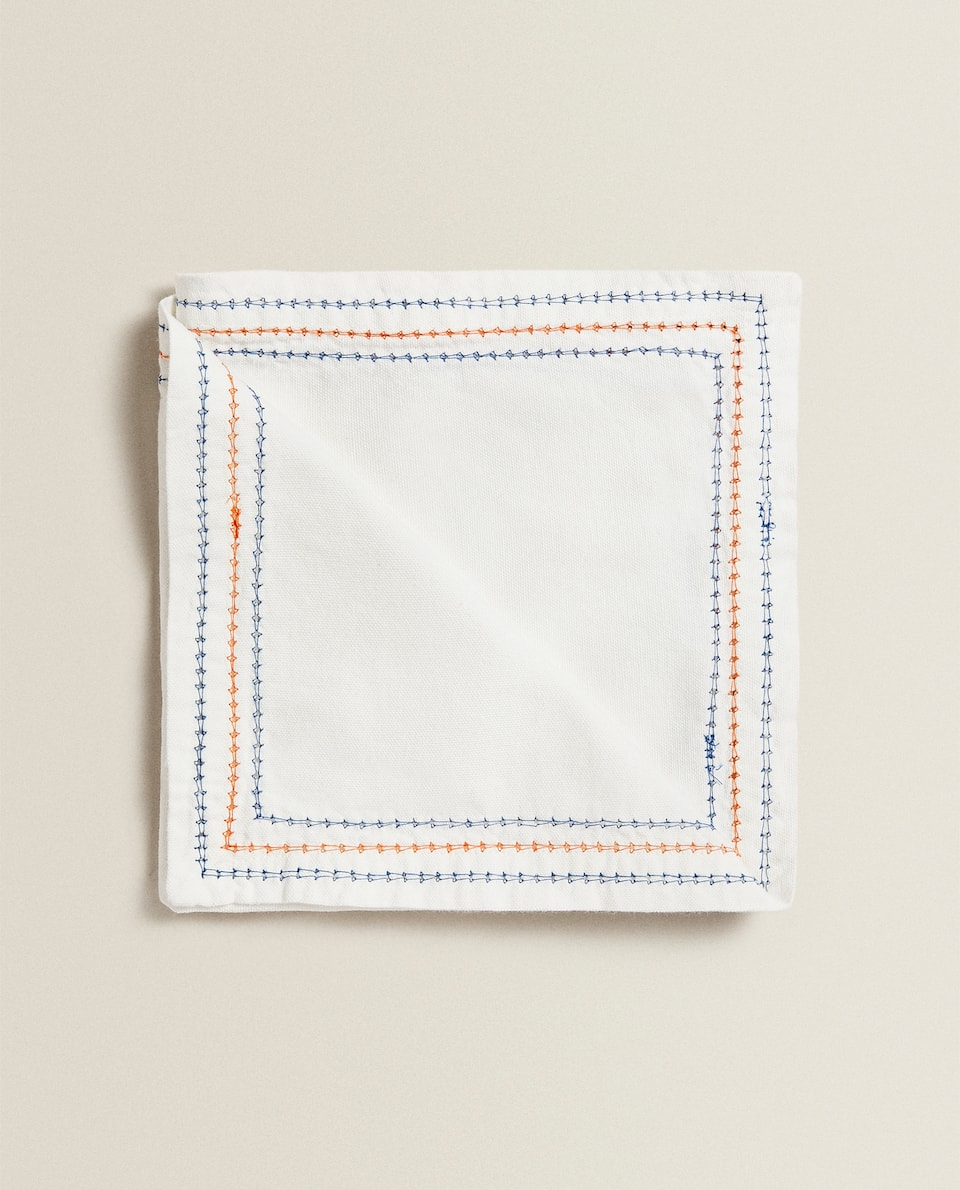 STITCHED NAPKINS (PACK OF 2)