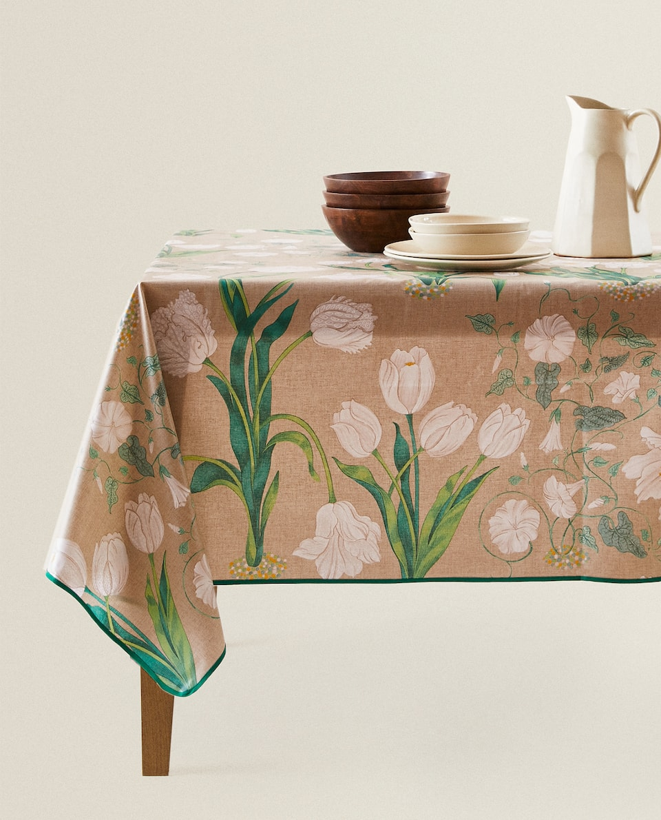 LAMINATED TABLECLOTH