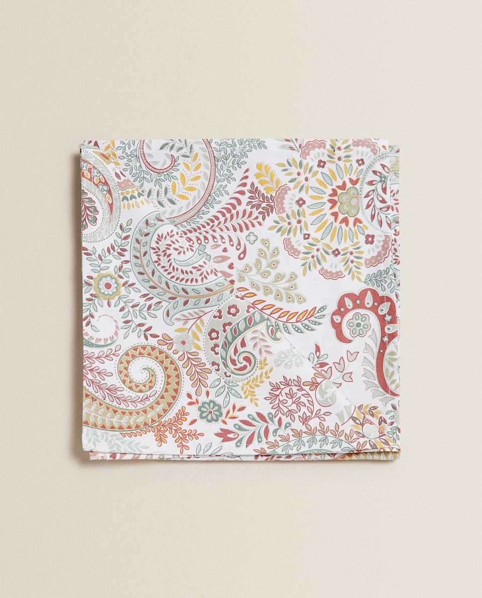 PAISLEY PRINT NAPKINS (PACK OF 2)