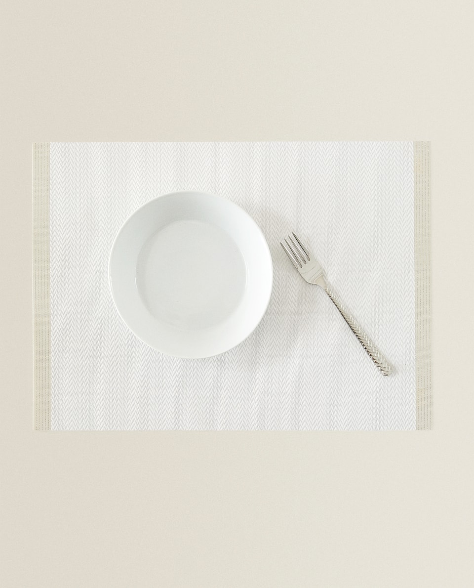 CONTRAST PLACEMAT (SET OF 2)