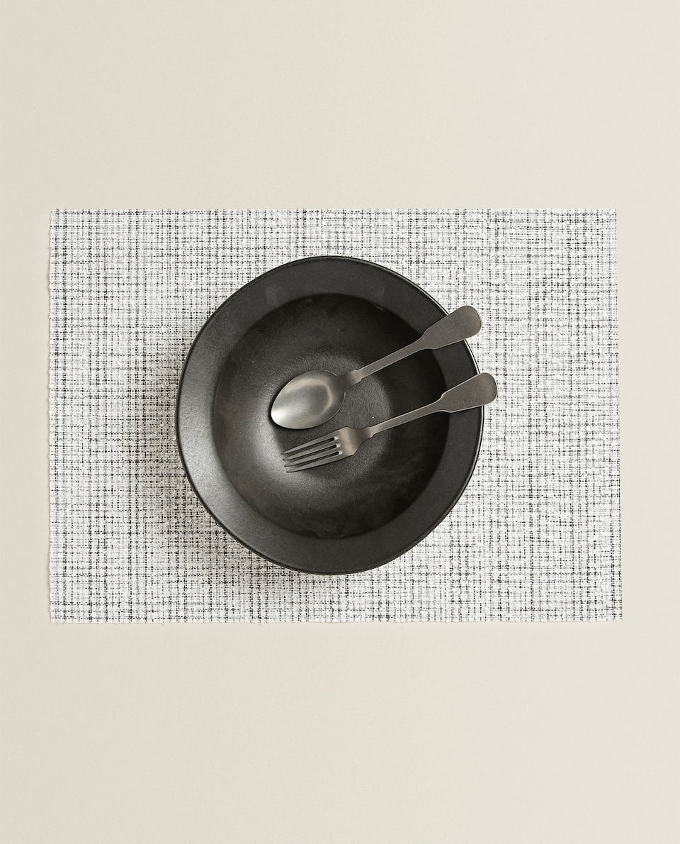 RAISED COTTON PLACEMAT (PACK OF 2)