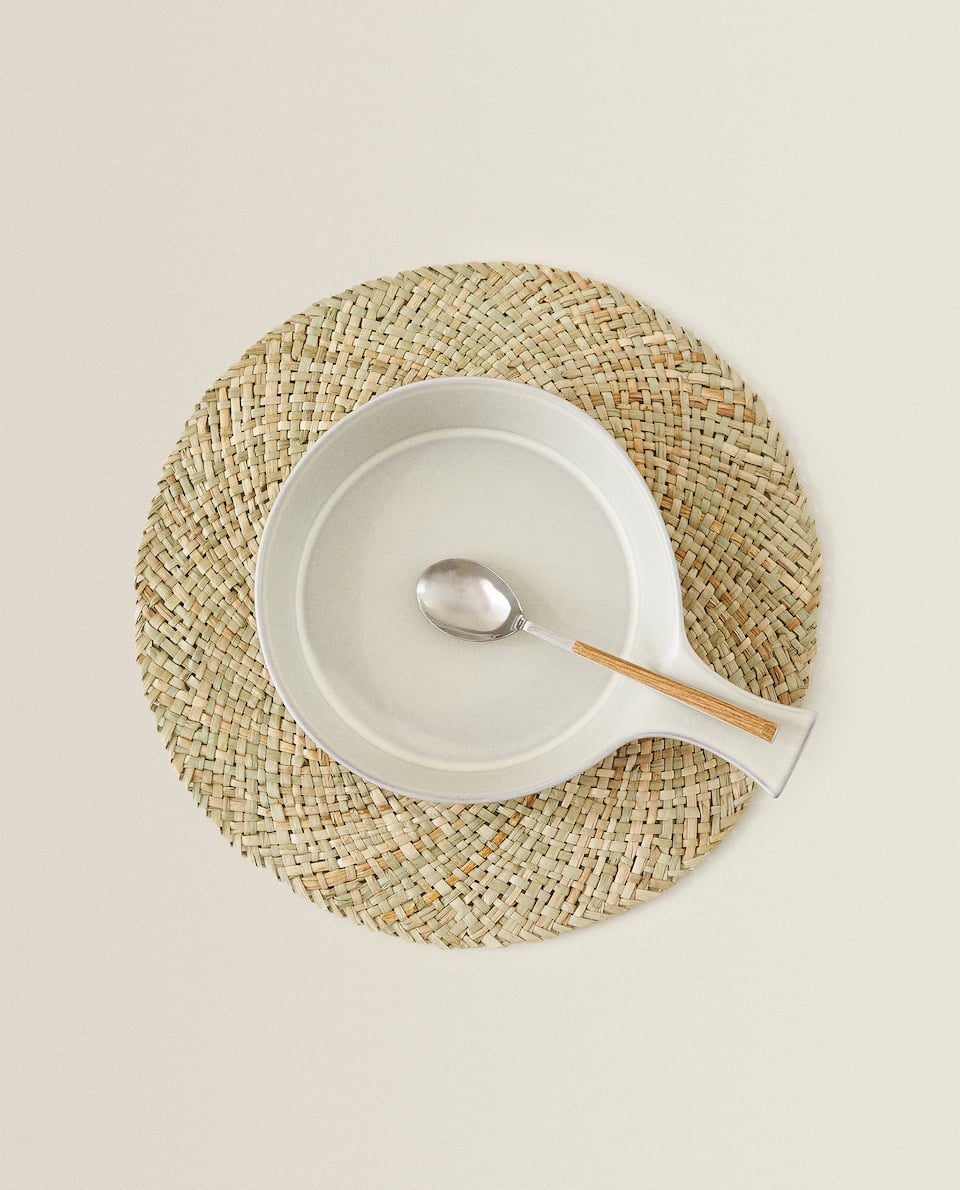 SET DE TABLE ROND FIBRE